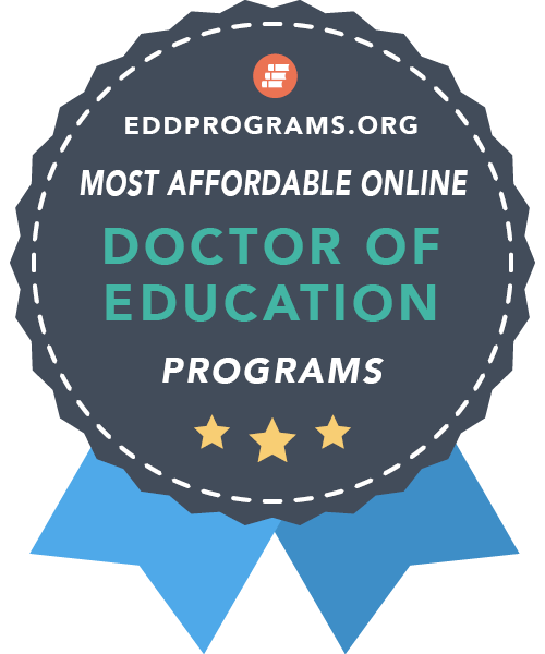 Most affordable online doctor of education programs award