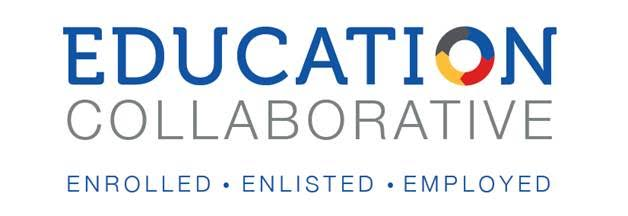 Education Collabortaion Enrolled Enlisted Employed logo