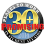 2014 Most promising places to work seal