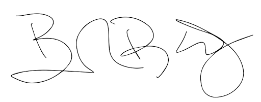Dr. Kelly's Signature