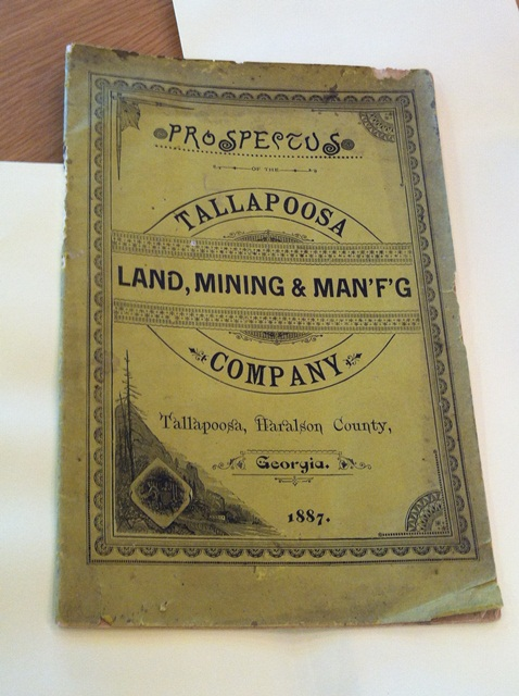 Tallapoosa Land Mining and Manufacturing Company